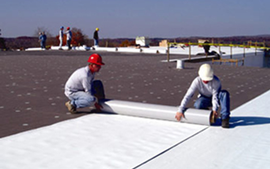 Installing A Pvc Roofing Membrane Pvc Roofing
