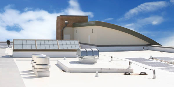 Flat Roof Decks Pvc Flat Roofing Material Cool Single