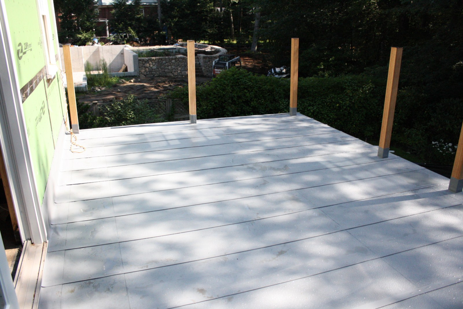 Using Pvc Roofing For Flat Roof Deck Waterproofing Pvc
