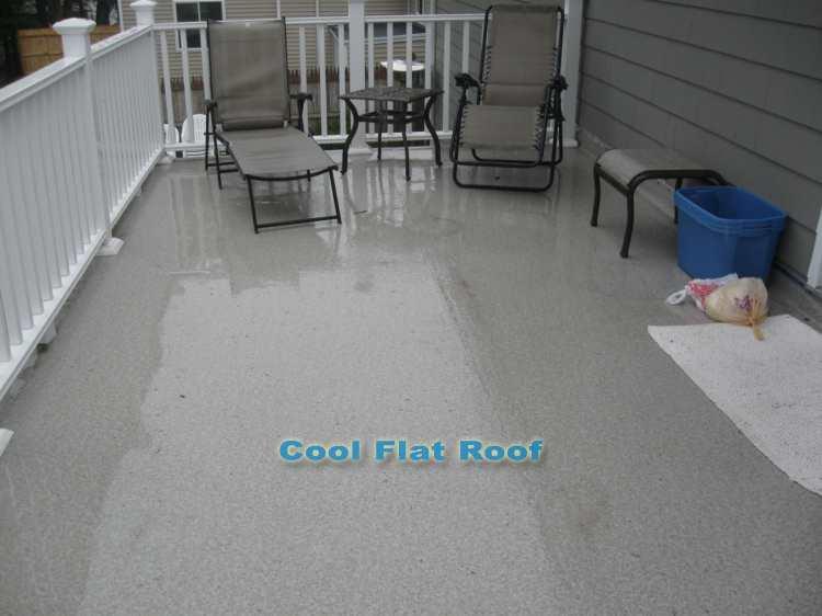 I Deckshield Pvc Flat Roof Deck